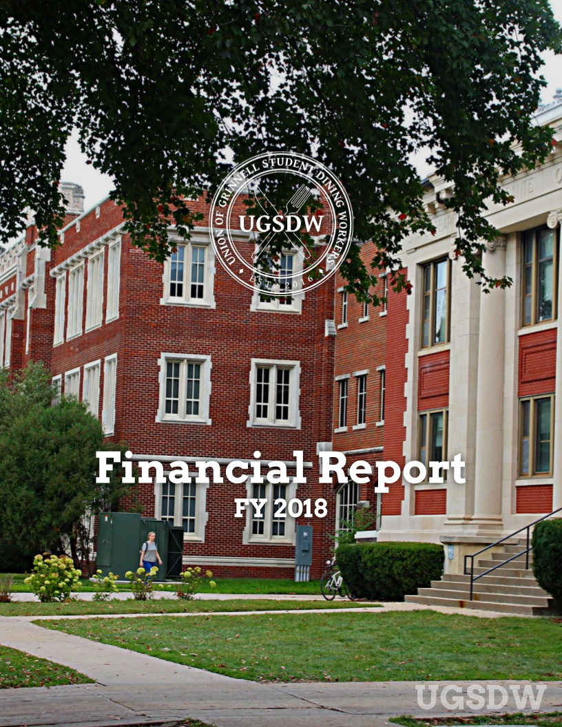 UGSDW FY2018 Financial Report